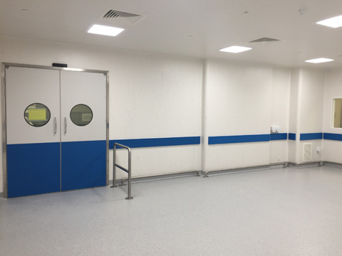 Clean room installation Swindon
