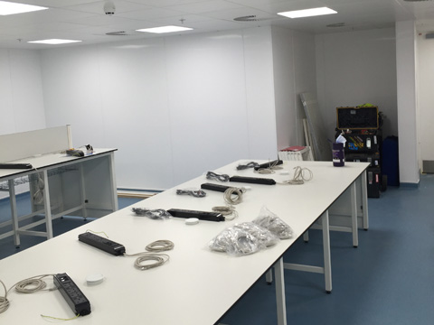 a m project services cleanroom and laboratory construction swindon